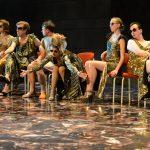 Antonius und Cleopatra Lilith Häßle, Henner Momann, Clemens Dönicke, Anna Steffens, Antonia Labs, Matthias Lamp [Foto: Bettina Müller]