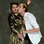 Antonius und Cleopatra Anna Steffens, Henner Momann [Foto: Bettina Müller]