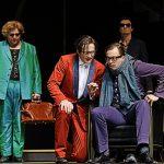 Arsen und Spitzenhäubchen Lorenz Klee, Rüdiger Hauffe, Matthias Lamp, Denis Larisch [Foto: Andreas Etter]