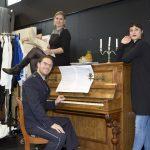 Bereiten sich auf das gemeinsame Konzert vor - Linda Sommerhage, Stefan Grefig, Gili Goverman_c_Martina Pipprich