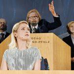 Das letzte Parlament_Klaus Köhler, Kristina Gorjanowa, Vincent Doddema, Elena Berthold_c_Andreas Etter