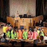 Das letzte Parlament_Kinderchor des Peter-Cornelius-Konservatoriums, Kristina Gorjanowa, Elena Berthold_c_Andreas Etter
