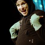 Der dickste Pinguin vom Pol Anika Baumann [Foto: Andreas J. Etter]