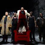 Macbeth3_Daniel Friedl, Johannes Schmidt, Murat Yeginer, Matthias Lamp, Lorenz Klee_c_Bettina Müller