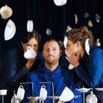 Zerbrechliche Gespräche_Ludovica Bello, Johannes Gaudet, Maren Schwier_c_Andreas Etter